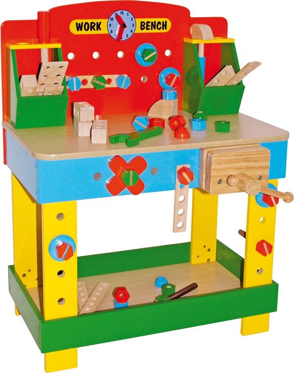 giochi bimbo banco attrezzi da falegname giochi e tempo libero. Black Bedroom Furniture Sets. Home Design Ideas
